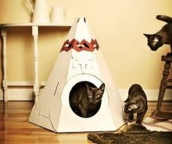 teepee cat playhouse