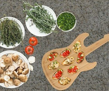 Guitar Chopping Boards