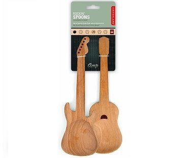 Guitar Wooden Spoons