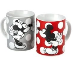 Mickey And Minnie Kissing Mugs