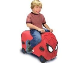 Spiderman Ride-On case