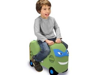 TMNT Leonadro ride-on case