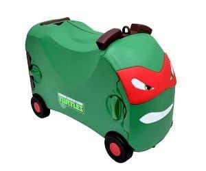 TMNT Raphael ride-on case