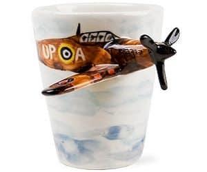 brown spitfire mug