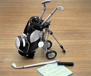 golf club pen set