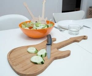 guitar chopping board