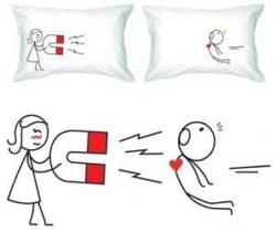 love magnet pillowcases