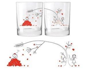 love petals glasses