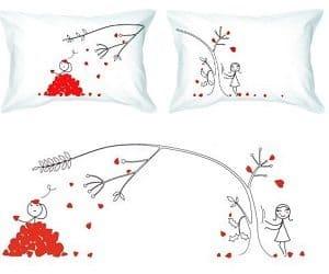 love petals pillowcases