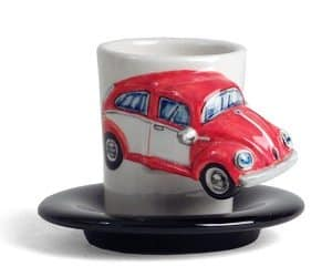 red beetle espresso cup