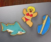 shark attack cookie cutters