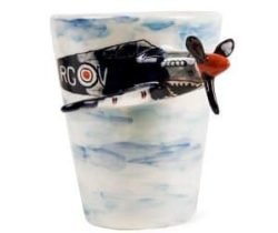 shark spitfire mug