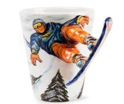 snowboard mug