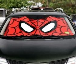 spiderman sunshade