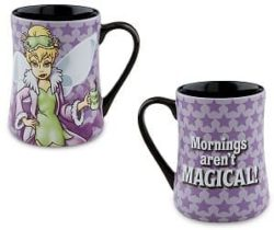 tinkerbell morning mug
