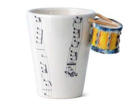 yellow drum mug
