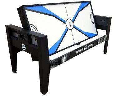 4-in-1 Rotating Games Table flip
