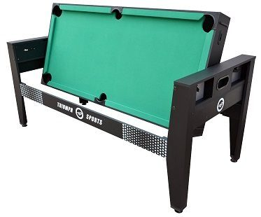 4-in-1 Rotating Games Table green