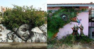 Blending-streets-art