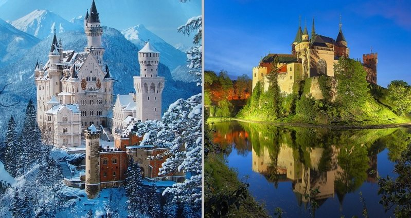 Fairytale Castles That Actually Exist