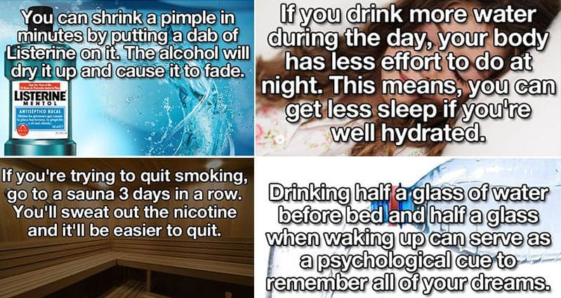 23 Life Hacks That Could Improve Your Health