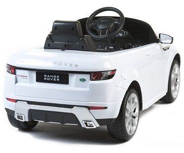Mini Range Rover Battery Car back