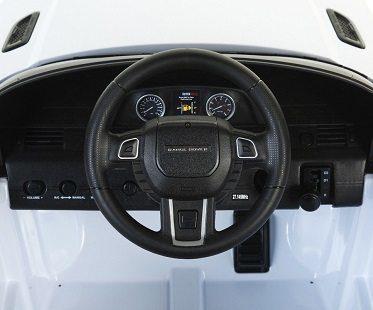 Mini Range Rover Battery Car inside