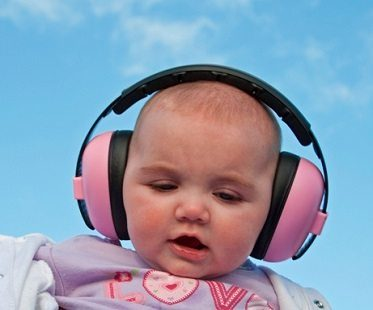 Noise Reducing Baby Earmuffs