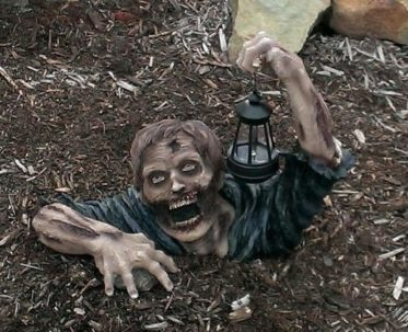 Solar Powered Garden Zombie