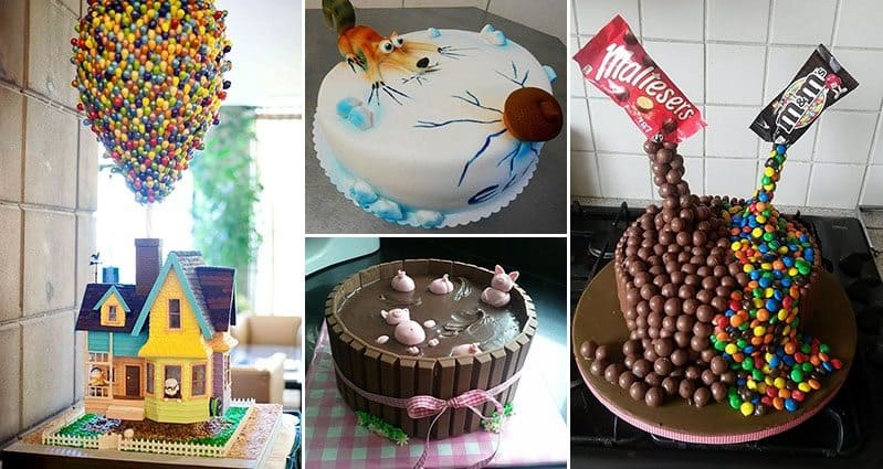 Unique Cakes To Make At Home