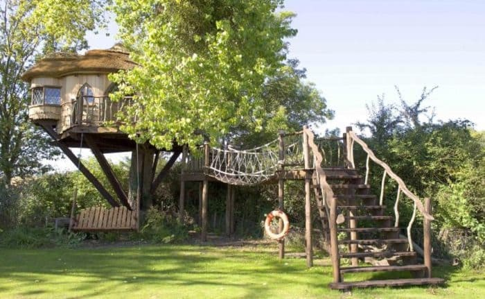 amberley castle treehouse england
