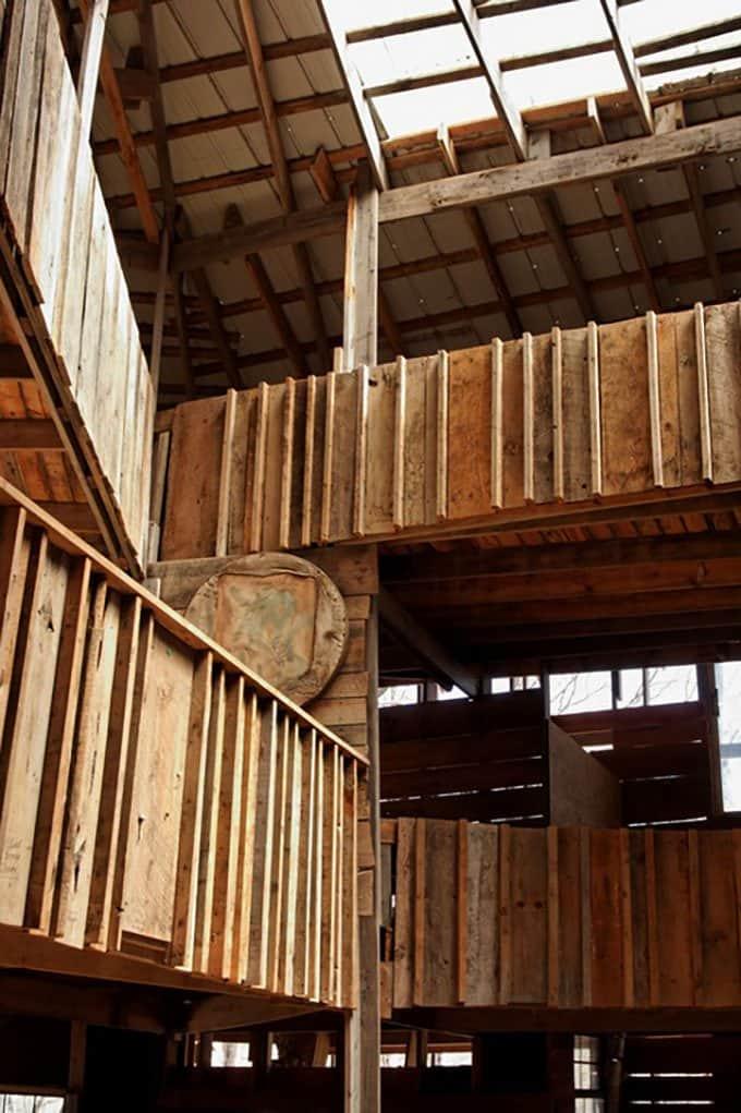 biggest treehouse inside up