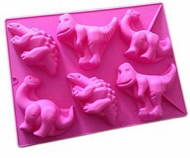 dinosaur cake mold tray