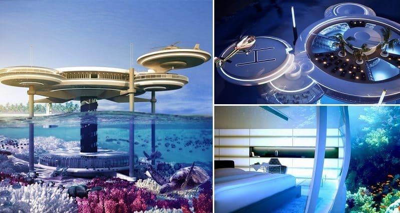 Futuristic Underwater Hotel In Dubai