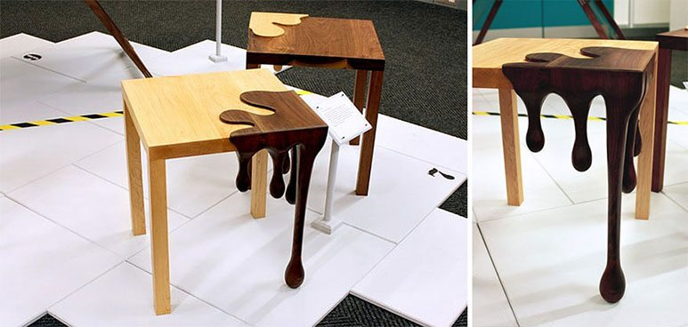 dripping-chocolate-table
