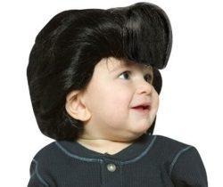 elvis baby wig