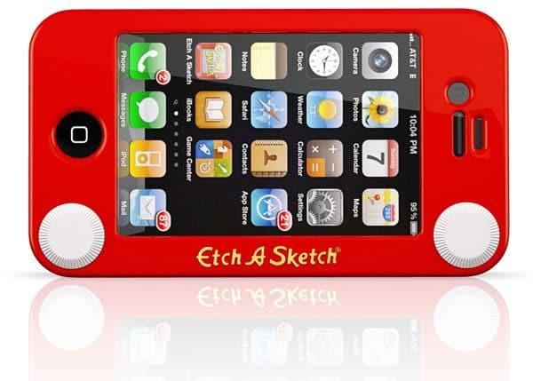 etch a sketch case