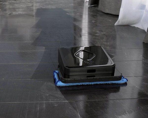 robotic floor mopping machine