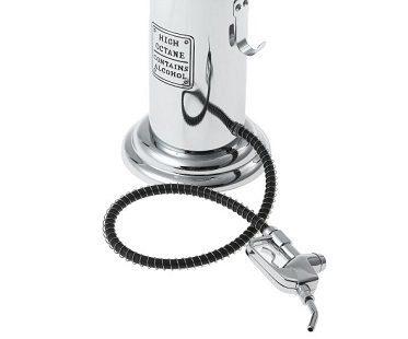 gas pump liquor dispenser close
