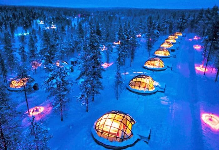 glass igloos overview