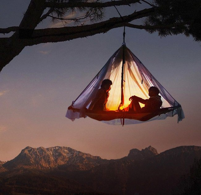 Camping on a whole new level for Tent platform design