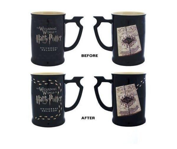 harry potter heat changing mug