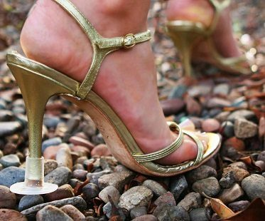 heel protectors stones