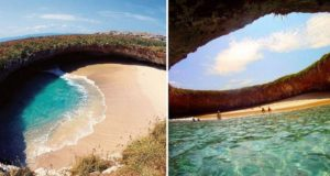 hidden beach mexico