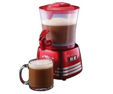 hot chocolate maker plain
