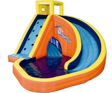 inflatable curved water plain