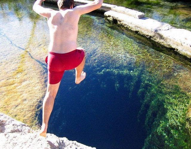 jacobs well man