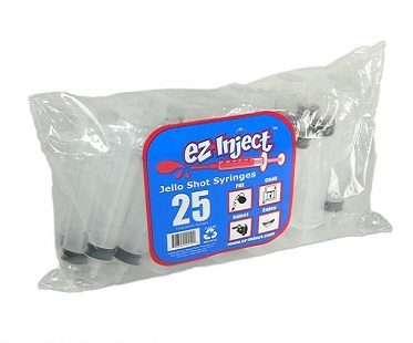 jello shot syringes pack