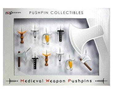 medievil weapon push pins box