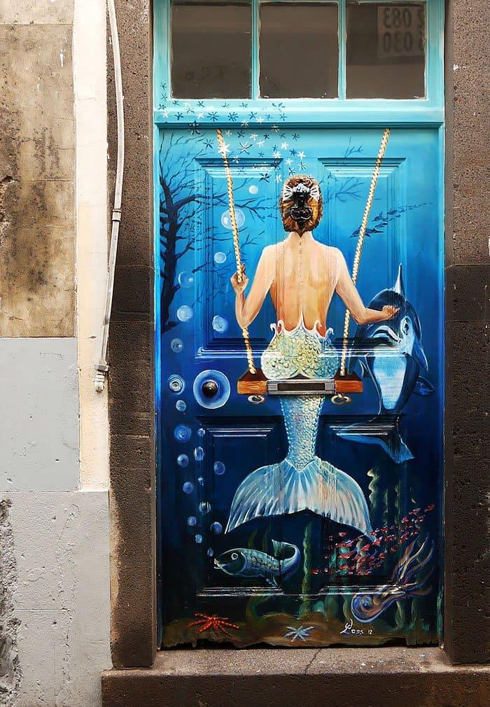 mermaid door